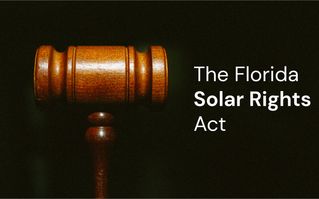 The Florida Solar Rights Act