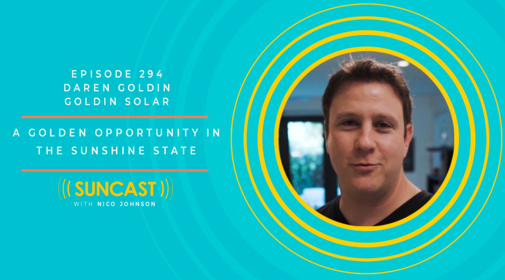 solar a golden opportunity with daren goldin